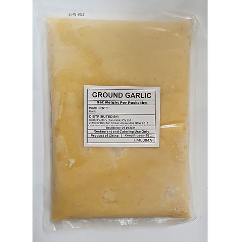 GROUND GARLIC PASTE 1KG/10