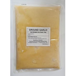 GROUND GARLIC PASTE 1KG