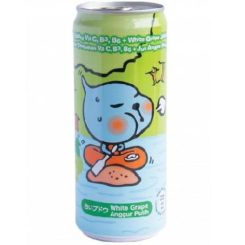 CCC CAN QOO WHITE GRAPE 315ML/12