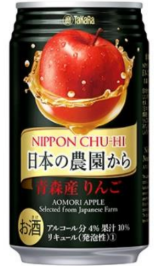 TKR CAN CHU-HI APPLE 350ml/24