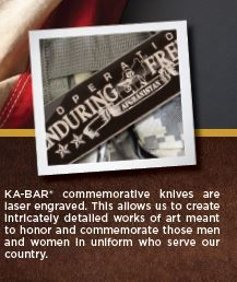 KA-BAR Military Commemorative Utility Fighting Knives