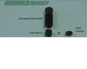 Redding Decap Dies - Parts Specifications part numbers etc