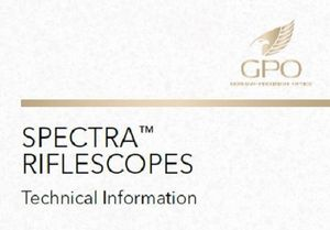 GPO - Spectra Rifle Scope Technical Details