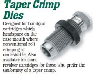 Taper Crimp Dies
