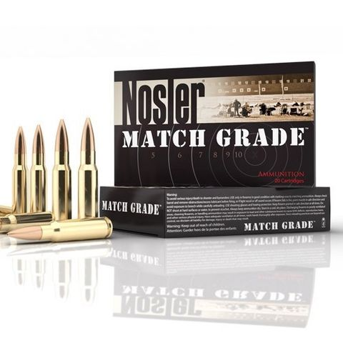 NOSLER 223 Remington Match 77gr Custom Competition Match HPBT (20 ct.)