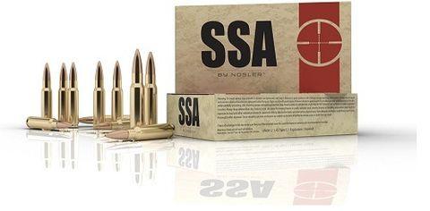 NOSLER SSA 5.56mm 63gr Soft Point (20 ct.)