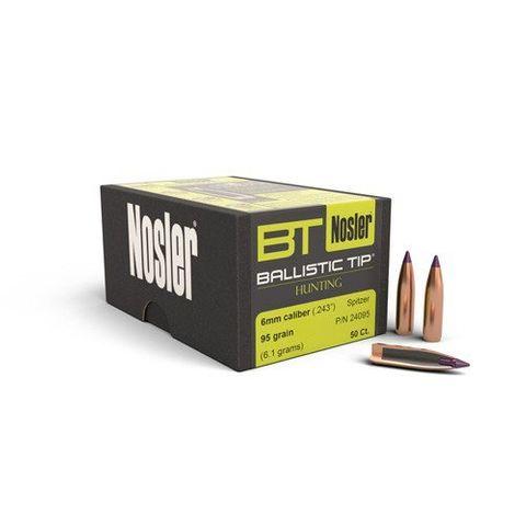 Nosler 6mm  95gr Ballistic Tip (50 ct.)