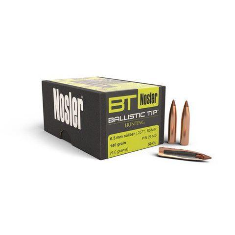 Nosler 6.5mm 140gr Ballistic Tip (50 ct.)