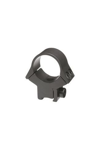 "B-SQUARE SPORT UTILITY RINGS -1"" .22 DOVETAIL - HIGH, SEE-THRU-BL"