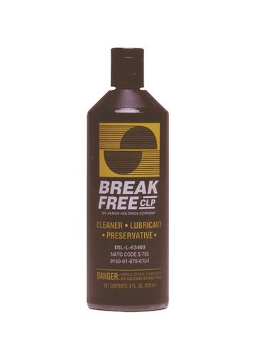 BREAKFREE CLP-4,120 ML LIQUID BOTTLE W/EXTENDER TUBE