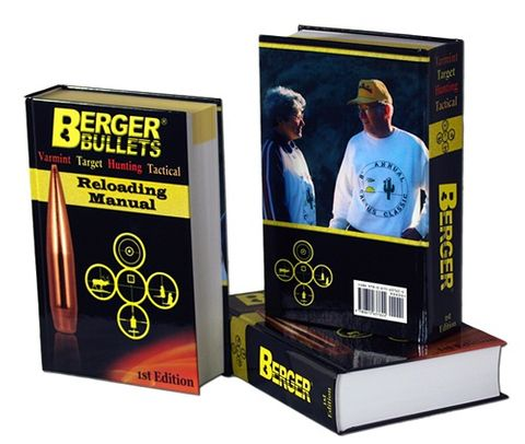 BERGER BULLETS FIRST EDITION RELOADING MANUAL