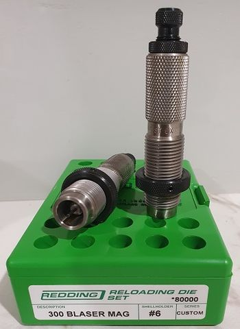 REDDING 338/300 WSM FULL LENGTH DIE SET