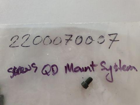 STEYR SCREWS QD MOUNT SYSTEM
