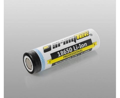 Armytek 18650 Battery Li-ion 3200mAh/Without PCB/Rechargeable