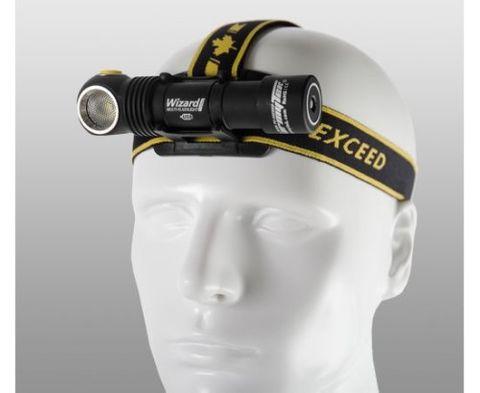 Armytek Wizard Pro v3 Magnet USB + 18650 Battery/XHP50/White Torch/ Headlamp