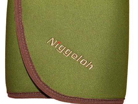 NIGGELOH NEOPRENE SEAT CUSHION, GREEN