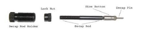 REDDING Type S Decap Rod Holder