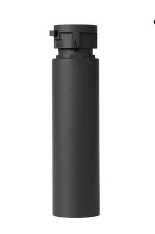 ASE DUAL556-BL suppressor w/out flash hider, BLACK CERAKOTE