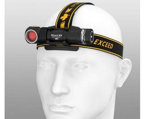 Armytek Wizard WR Magnet USB + 18650 / White & Red light / 1300 lm & 320 lm / TIR 70°:120°