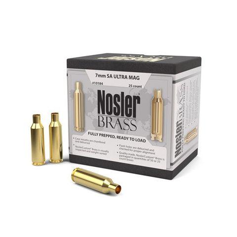 NOSLER PREPPED BRASS 7MM SA Ultra Mag  (25 CT)