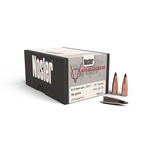 Nosler 6.5mm 90gr Varmageddon FB Tipped (100 ct)