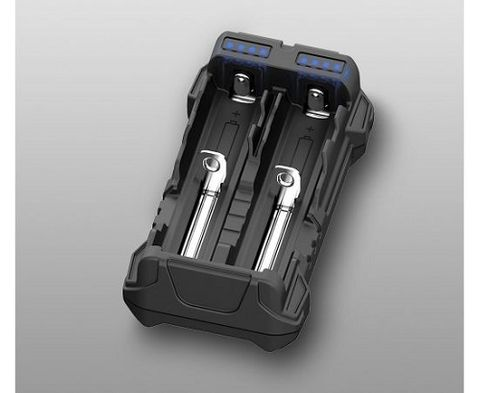 Armytek Handy C2 VE / 2ch / LED indication / Input 5V USB Type C / Output 2x2A / Powerbank 2.5A /