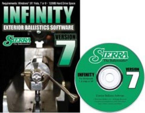 SIERRA INFINITY EXTERIOR BALLISTIC SOFTWARE (VERSION 7)