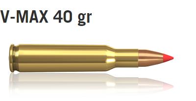 Norma 222 REM. 40 V-MAX  (20)