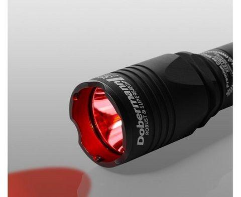 Armytek Dobermann / XP-E2 Red / 200 lm Tactical Flashlight