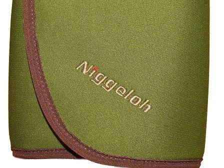 NIGGELOH NEOPRENE SEAT CUSHION, GREEN