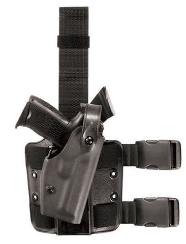 SAFARILAND  TACTICAL  HOLSTER SIG SAUER Black RH