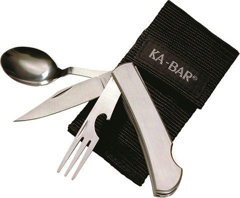 KA-BAR HOBO-STAINLESS FORK/KNIFE/SPOON-BOXED