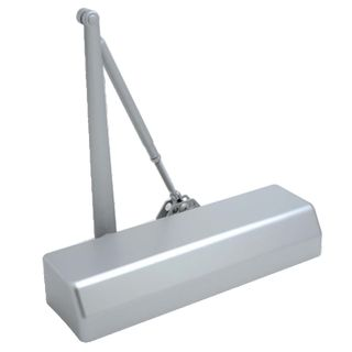 DOOR CLOSERS SATIN CHROME