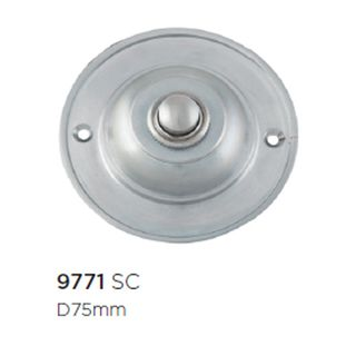 DOOR BELLS SATIN CHROME