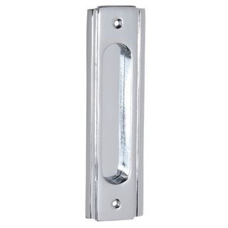 SLIDING DOOR HARDWARE CHROME PLATE