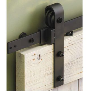 SLIDING & FOLDING DOOR TRACK BLACK