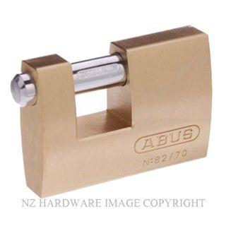 ABUS AB82/70 MONOBLOCK PADLOCKS