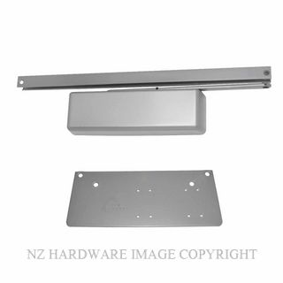 LCN 4040XPT HO M METAL FIX HOLD OPEN CLOSER SILVER GREY