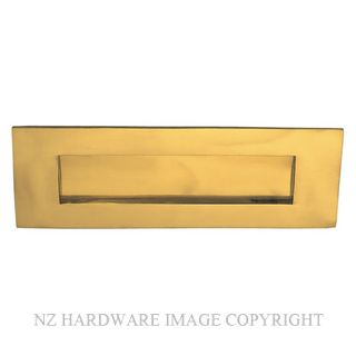 ELEMENTS HARDWARE 3012 LETTERPLATE POLISHED BRASS