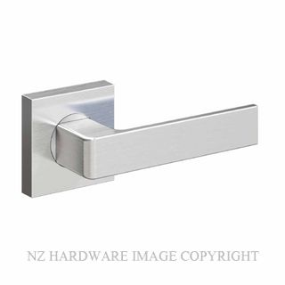 SCHLAGE FORM ANGELO SQUARE ROSE FURNITURE SATIN STAINLESS
