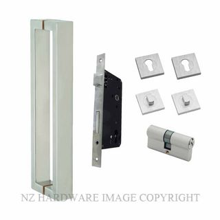SCHLAGE TRENTO-EURO LOCKSET ENTRY DOOR SET