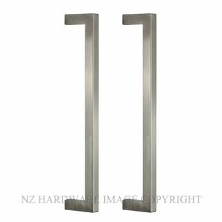 NZH PULL 1630 PULL HANDLE BACK TO BACK PAIR SATIN STAINLESS 304