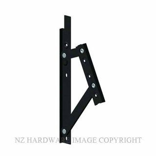 INTERLOCK P1553B MODEL 420HD A FRICTION HINGES BLACK