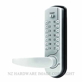 YALE SL7100SCLS DIGITAL ENTRANCE LOCKSET SATIN CHROME