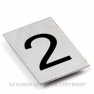 JAECO SIGN NUM 2 NUMBER 2