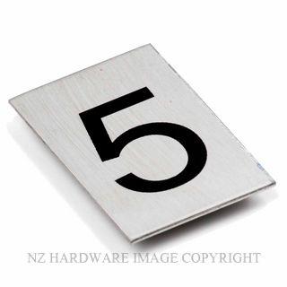 JAECO SIGN NUM 5 NUMBER 5