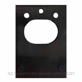 CARBINE LKCNL PPBL NIGHTHAWK PACKING PLATE 2MM MATT BLACK