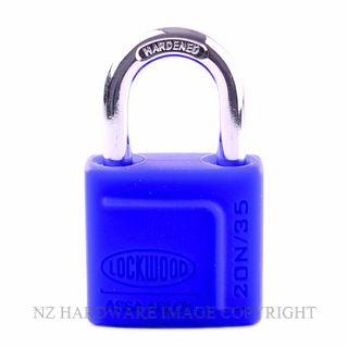 Lockwood 120N 35 Series Padlocks Series Blue