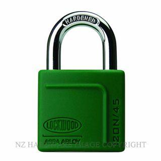 Lockwood 120N 45 Series Padlocks Series Green