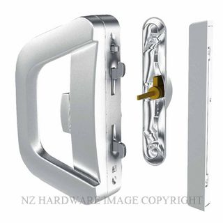 YALE AL901210SC ALBANY ENDEAVOUR KEY & SNIB SLIDING DOOR LOCK SATIN CHROME